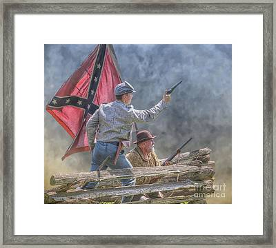 Dont Forget That You Are From Old Virginia Framed Print