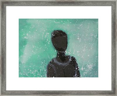 Don't Forget The Original Intention. Framed Print