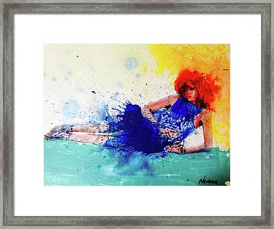 Wild For Fashion Framed Print by Nevena Bentz