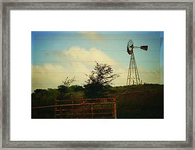 Don't Forget To Write Home Framed Print