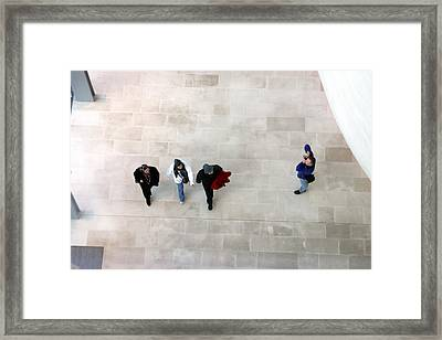 Dont Get Me In The Shot Framed Print by Jez C Self