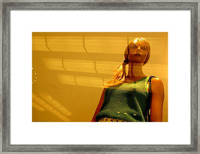 Dont Go Without Me Framed Print by Jez C Self