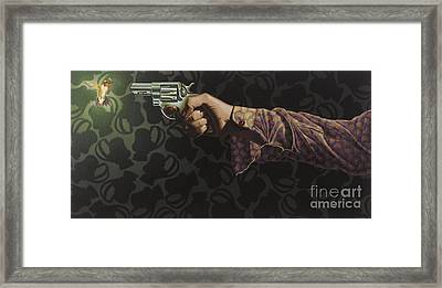 Don't Hold Your Breath Framed Print by Stephen Hall