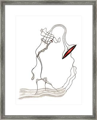 Dont Know Framed Print by 2nd Planet Left