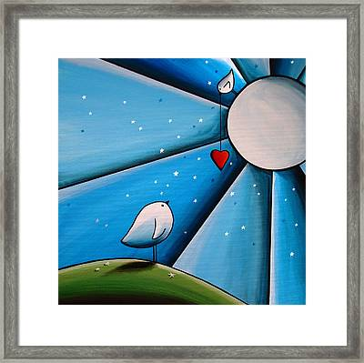 Don't Let The Stars Get In Your Eyes Framed Print by Cindy Thornton