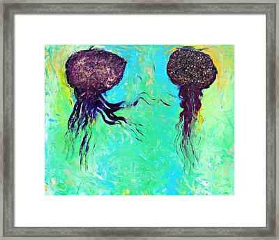 Don't Like You Anymore Framed Print by Lola Connelly