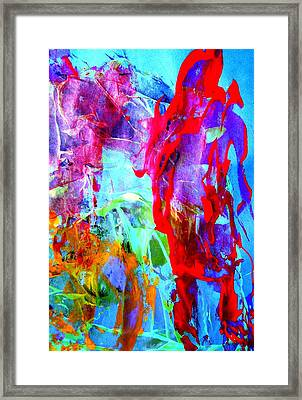 Dont Look Back Framed Print by Bruce Combs - REACH BEYOND