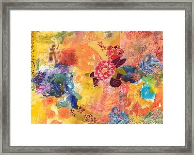 Don't Send Me Flowers II Framed Print by Gloria Von Sperling