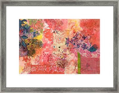 Don't Send Me Flowers IIi Framed Print by Gloria Von Sperling