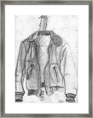 Don't Tell Joan About The Hangers No2 Framed Print