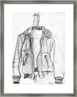 Don't Tell Joan About The Hangers Framed Print