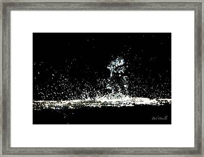 Don't Threaten Me With Love. Framed Print