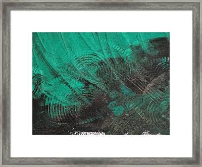 Don't Tread On Me Framed Print by Karen Lillard