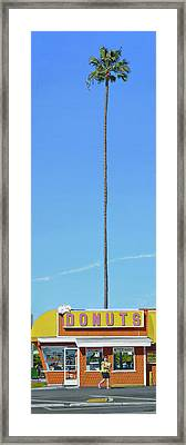 Donuts Framed Print by Michael Ward