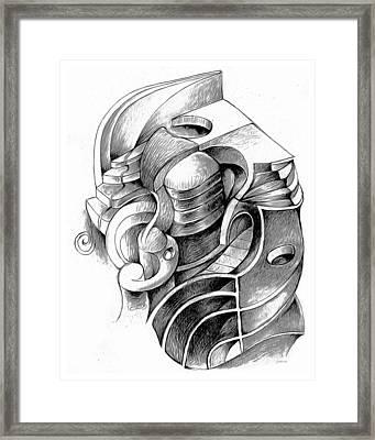 doodle 27MAR17 Framed Print by Greg Joens