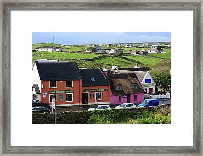 Doolin Village County Clare Framed Print