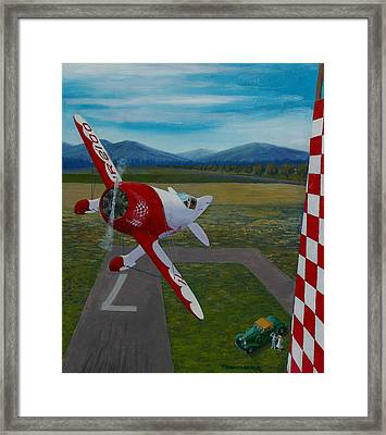 Doolittle's Geebee Framed Print by Ron Smothers