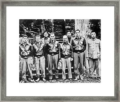 Doolittle's Raiders Framed Print by American School