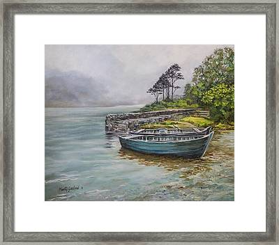Doolough View Framed Print by Marty Garland