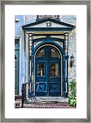 Door 13 Framed Print