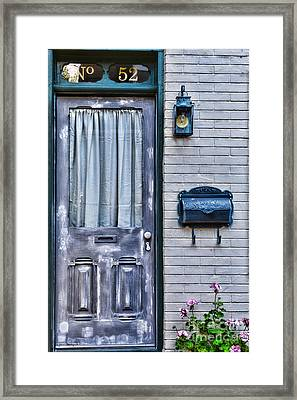 Door 52 Framed Print by Paul Ward