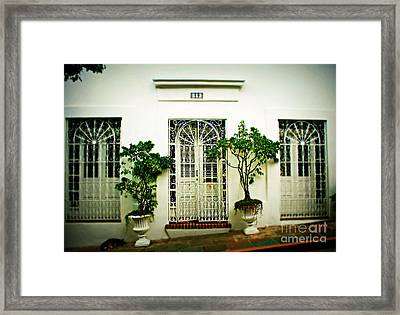 Door 59 Framed Print by Perry Webster