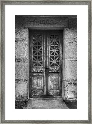 Door 6 Framed Print