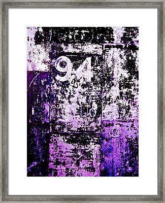 Door 94 Perception Framed Print by Bob Orsillo