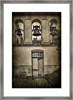 Door Bells Framed Print
