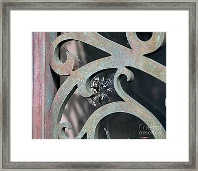 Door Detail Framed Print