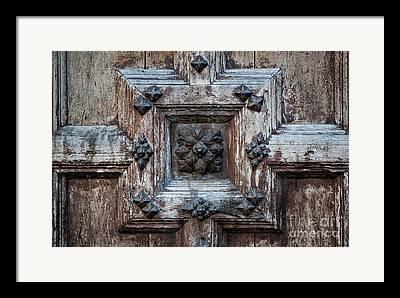 Fragments Of Wood Framed Prints