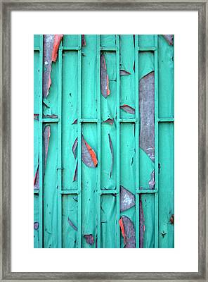 Door Framed Print by Jez C Self