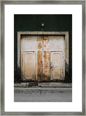 Door No 163 Framed Print by Marco Oliveira