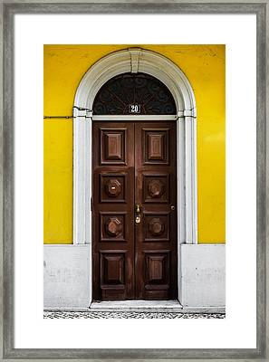 Door No 20 Framed Print by Marco Oliveira