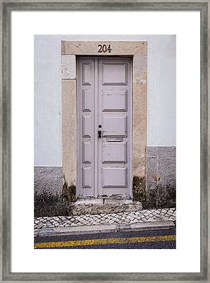 Door No 204 Framed Print by Marco Oliveira