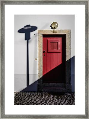 Door No 28a Framed Print by Marco Oliveira