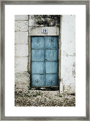 Door No 29 Framed Print by Marco Oliveira