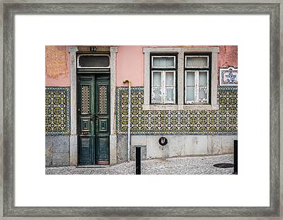 Door No 33 Framed Print by Marco Oliveira