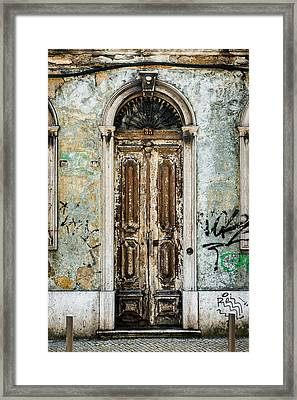 Door No 35 Framed Print by Marco Oliveira