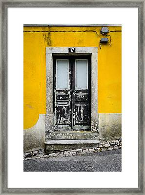 Door No 37 Framed Print by Marco Oliveira