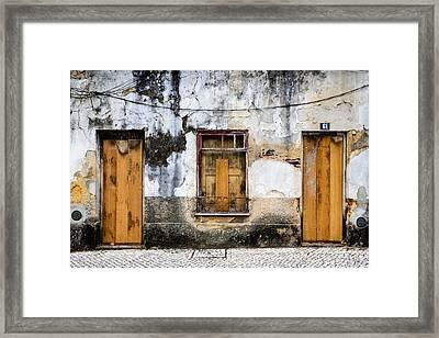 Door No 61 Framed Print