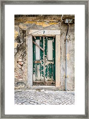 Door No 7 Framed Print