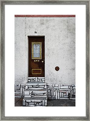 Door No 84 Framed Print by Marco Oliveira
