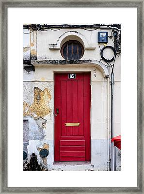 Door No 85 Framed Print by Marco Oliveira