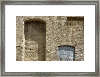 Door No More Framed Print by Dan Holm