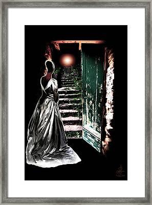 Door Of Opportunity Framed Print
