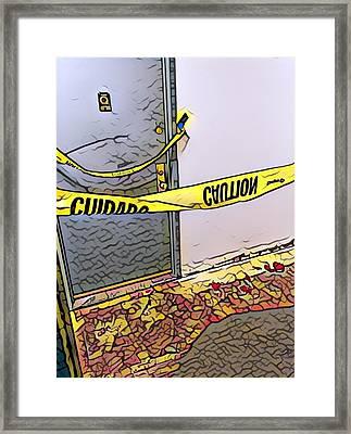 Door Of Perception Framed Print