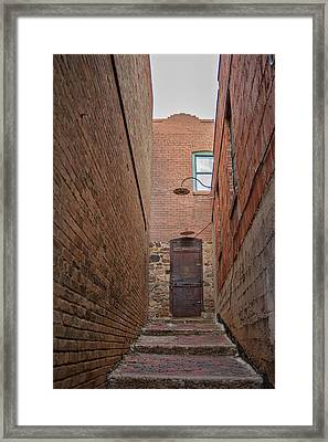 Framed Print featuring the photograph Door To 9a by Dan McManus