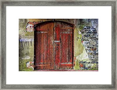 Door To Discovery Framed Print by JAMART Photography