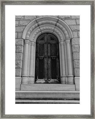 Door To Eternity Framed Print by Denise McKay